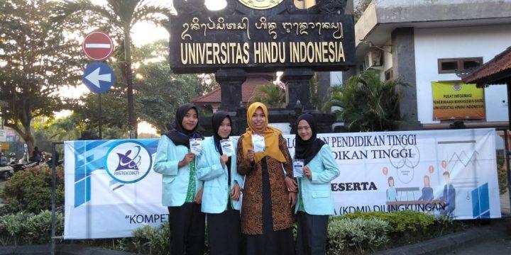Mahasiswa STIKes Hamzar Ikuti Lomba Debat Bahasa Indonesia di Bali